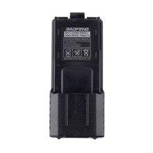цена на For Baofeng BL-5L 3800mah 7.4v Extended Li-Ion Battery Replacement & Backup Battery Power For Baofeng UV-5R Radio