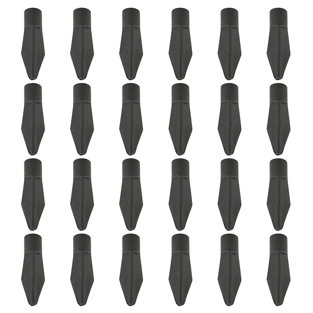 24 pçs cabeças de seta tiro com