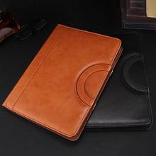 A4 Multifunctional Folder PU Leather Zipper Bag for Notebook Business Travel OUJ99 цена