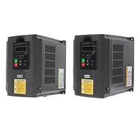 VFD Inverter 1.5KW Frequency Converter 3 phase 220V/110V Output CNC Spindle motor speed Control VFD Converter