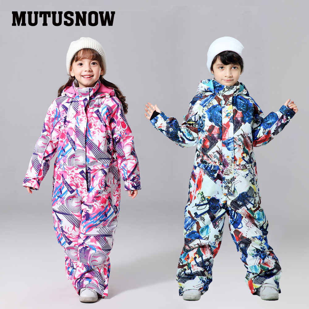2019 New Kids Ski Suit Children Brand Waterproof Girls And Boys Snow Set Pants Winter Skiing And Snowboarding Jacket Child Baby