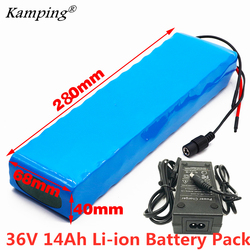 36V 14ah Battery E-bike battery pack 18650 lithium battery pack 500W High Power and Capacity 42V 14000mAh Ebike electric bicycle