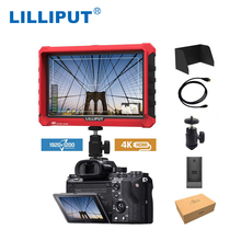 LILLIPUT A7S 7 дюймов 1920x1200 HD ips экран 500cd/m2 камера полевой монитор 4K HDMI вход выход видео беззеркальная камера DSLR
