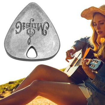 Klasyczny trwały stop cynkowy gitara Pick plektron na gitarę elektryczną Instrument muzyczny instrumenty strunowe akcesoria tanie i dobre opinie CN (pochodzenie)