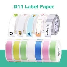 Niimbot-Mini Etiqueta de impresión de Papel de impresora, etiqueta impermeable, precio antiaceite, Color puro, papel adhesivo de etiqueta resistente a arañazos