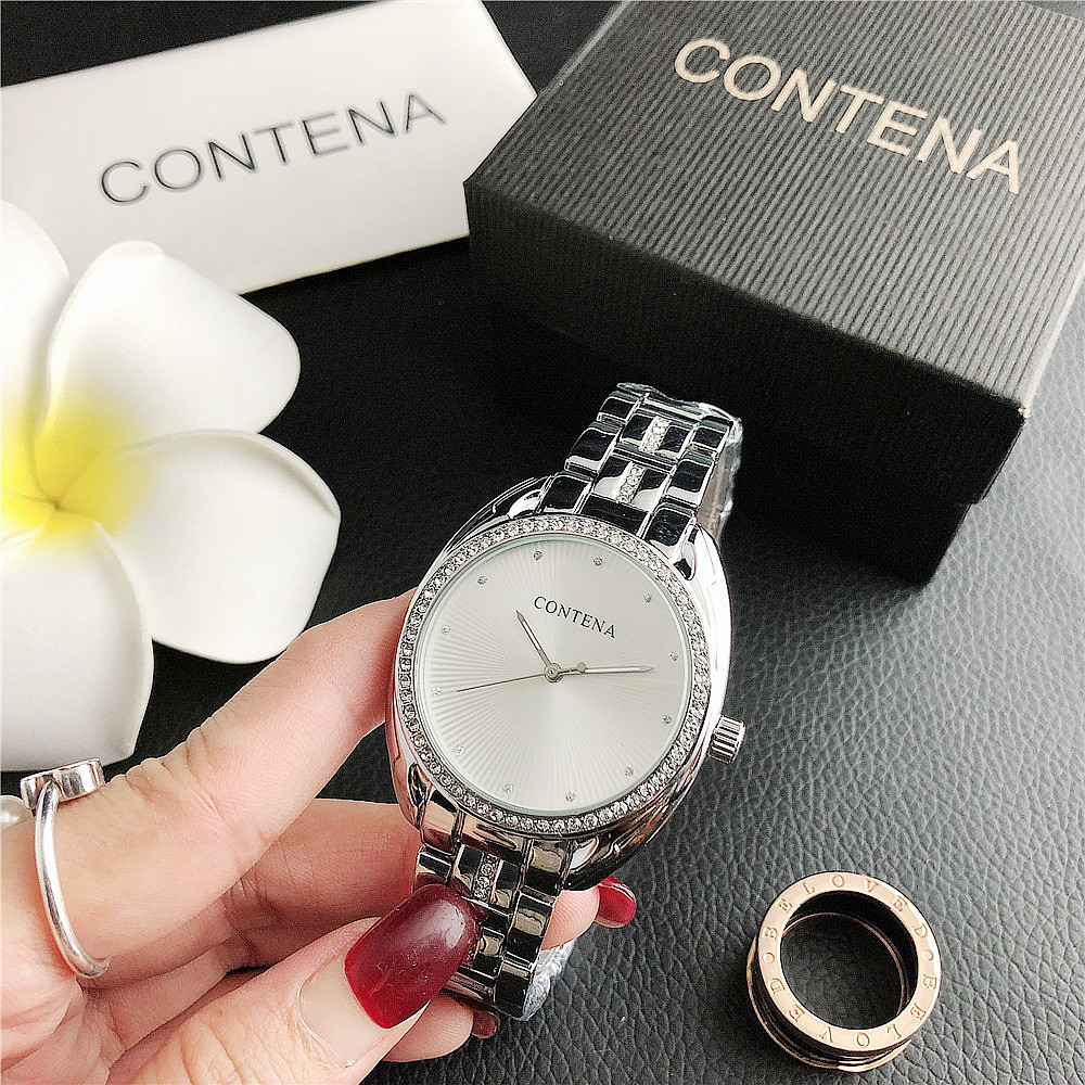 SET   6694D    Hot sale new men's and women's simple and exquisite fashion watch