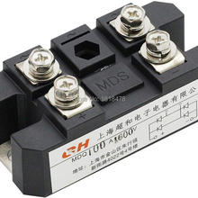 Мостовой выпрямитель MDQ-100A 100A 1600 в полноволновой диодный модуль одна фаза