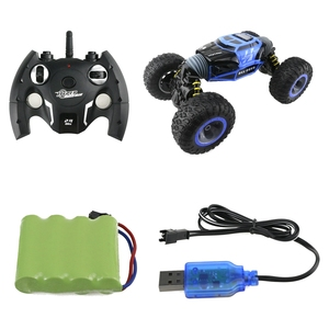 Image 3 - RC Car 2.4Ghz 1/16 4WD Double Sided Remote Control Car Amphibious Vehicle Stunt Car RC Stunt Car With Remote Controller For Fun
