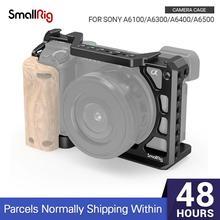 SmallRig a6400 DSLR כלוב עבור Sony A6300/ A6400 /A6500 מצויד צורה מצלמה כלוב עם 1/4 ו 3/8 השחלה חורים 2310