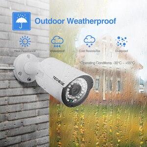 Image 5 - تيشيج H.265 8CH POE نظام 2.0MP الصوت IP كاميرا معدنية في الهواء الطلق مقاوم للماء كاميرا شبكة مراقبة CCTV نظام الأمن طقم مراقبة