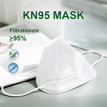 KN95 Mask 95% Filtration Anti Dust Bacterial N95 Mask Dustproof PPE Protective Mask Face Mouth Cover Features Face Masks
