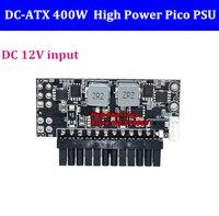 400W Output Switch Power Supply Module for PC DC 12V 400W 24Pin Pico PSU ATX Switch PSU Car Auto Mini ITX DC TO DC Power