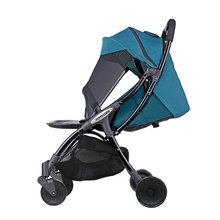 2019 New comfortable safety baby stroller easy care pure color baby stroller