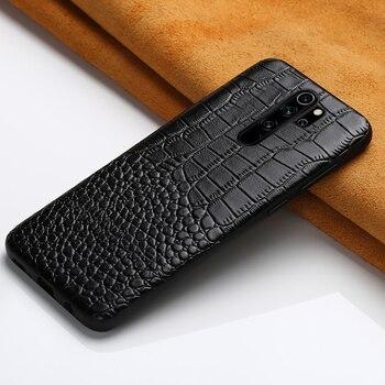 Genuine Leather Case for Xiaomi Redmi Note 8 Pro 8T Note 9 Pro 9S 7 Cover For Mi 10 Ultra 8 9 Note 10 Lite 9T Pro A3 Poco X3 F2