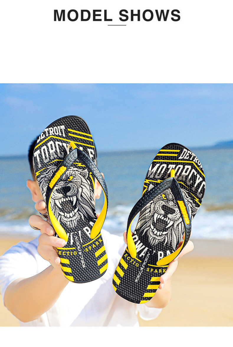 He39a702929684a9caf41d6cbeac149d8G - VESONAL Summer Graffiti Print Slippers Men Shoes Flip Flops Slipers Male Hip Hop Street Beach Slipers Casual Flip-flops