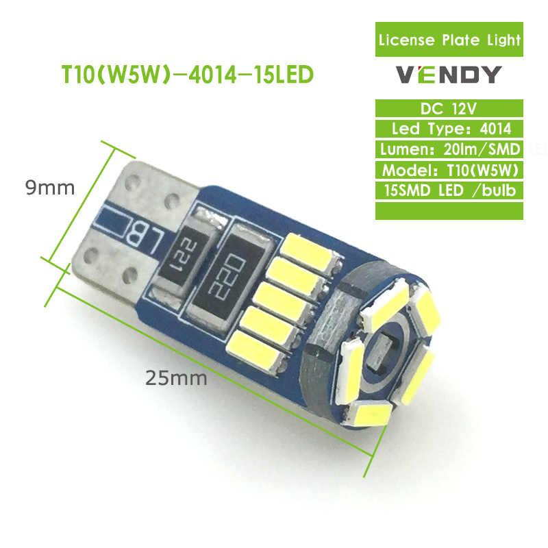 2 pièces LED lumière de dégagement plaque d'immatriculation ampoule lampe W5W T10 194 pour Dodge calibre Ram 1500 caravane voyage X5 Stratus Neon
