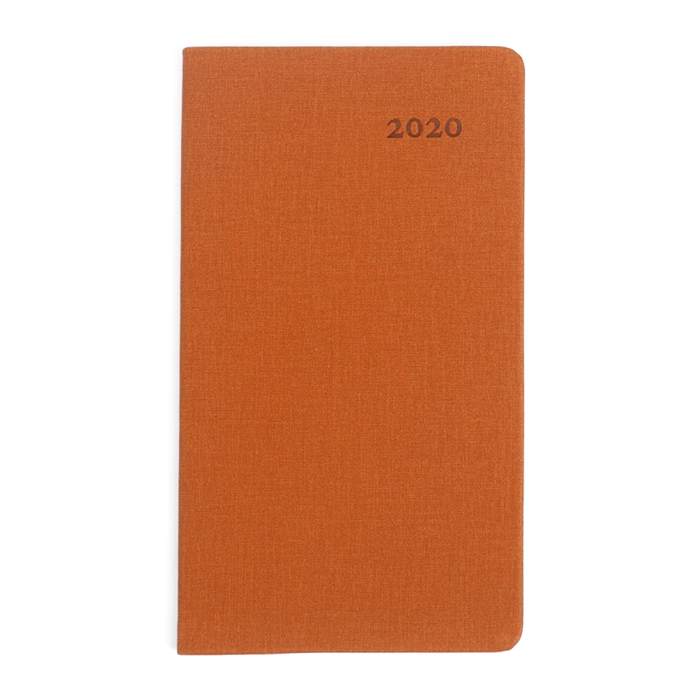 2020 Year Calendar Monthly Planner Months Diary Leather Notebook Personal Agenda Planner Organizer Business Office Stationery