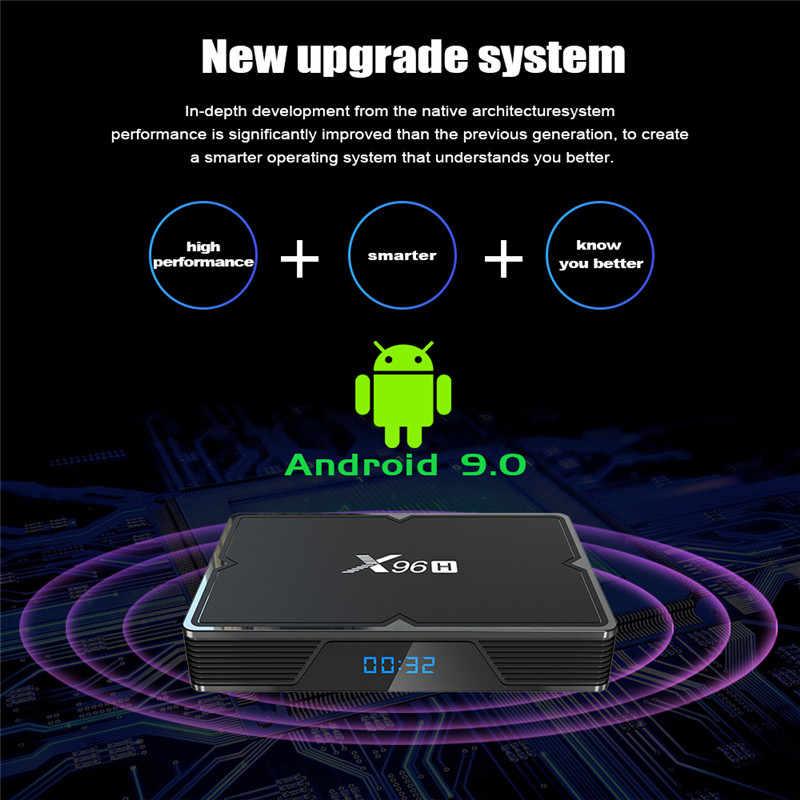 Neo TV Pro IPTV X96H Android 9.0 TV Box Pháp Tiếng Ả Rập Sống KÊNH SMART TVbox Hay Nhất Hơn Volka QHDTV