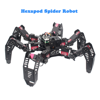 Newest Hexapod spider bionic robot Spiderpi programmable OpenCV intelligent AI vision kit