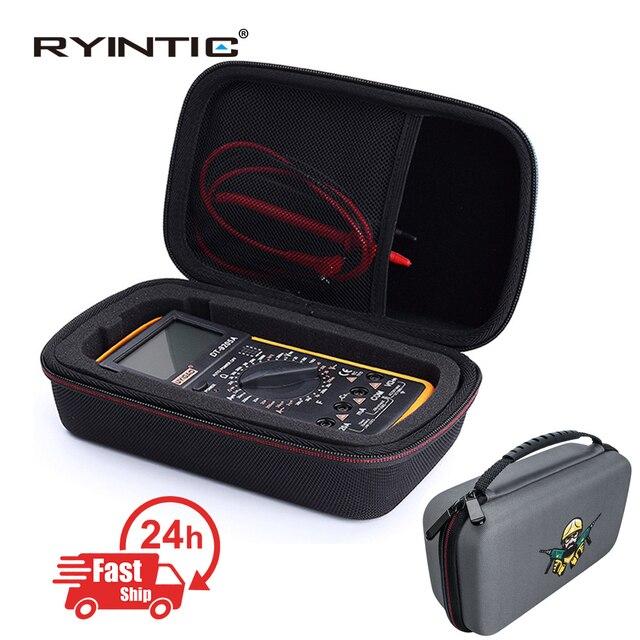 Sert EVA taşınabilir seyahat depolama kapak çanta Fluke 117/116/115/114/113/87V/88V/F15B +/F17B +/F18B + daha fazla dijital multimetre