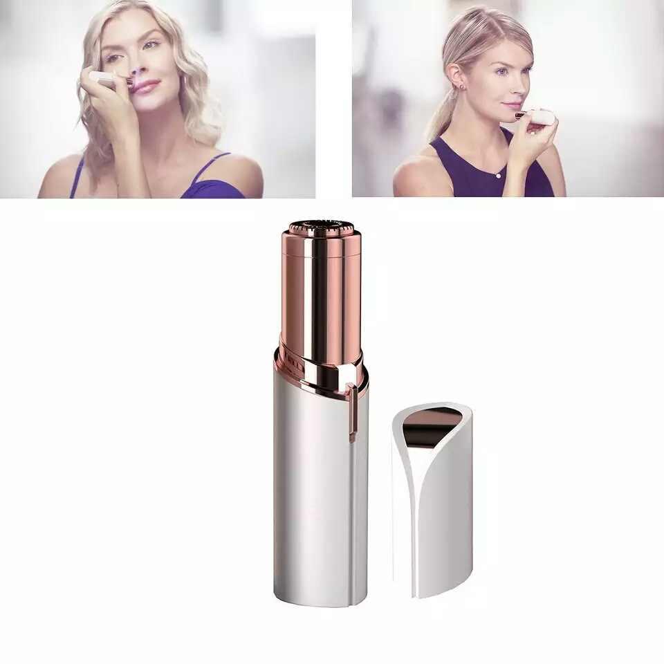 גודל נייד כאבים חשמלי שיער מסיר נשים שפתון מכונת גילוח תער שעוות גוזם גילוח מכונת נשי גוף פנים כלים