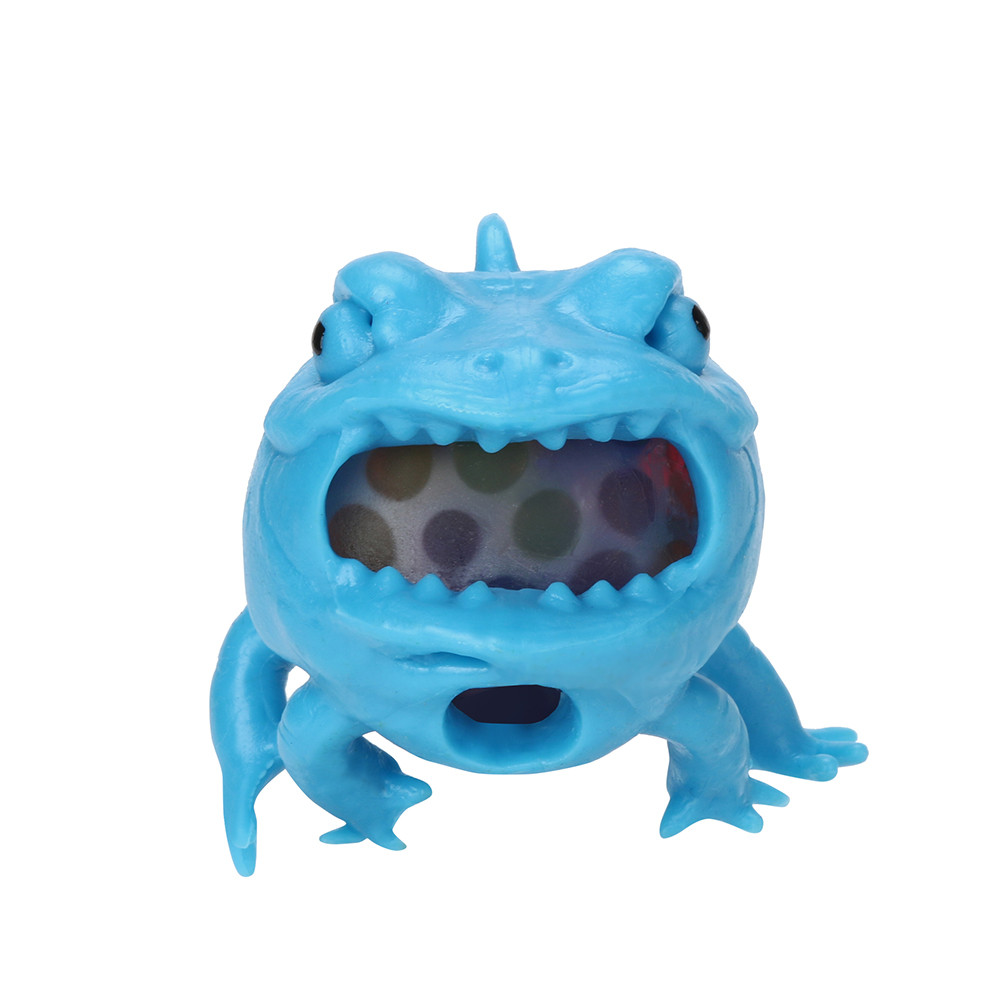 Bigmouth Fish Mesh Ball Stress Squeeze Grape Toys Anxiety Relief Stress Ball