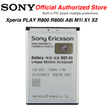 Original Sony BST-41 Battery For Sony Ericsson Xperia PLAY R800 R800i A8i M1i X1 X2 X2i X10 X10i Play Z1i
