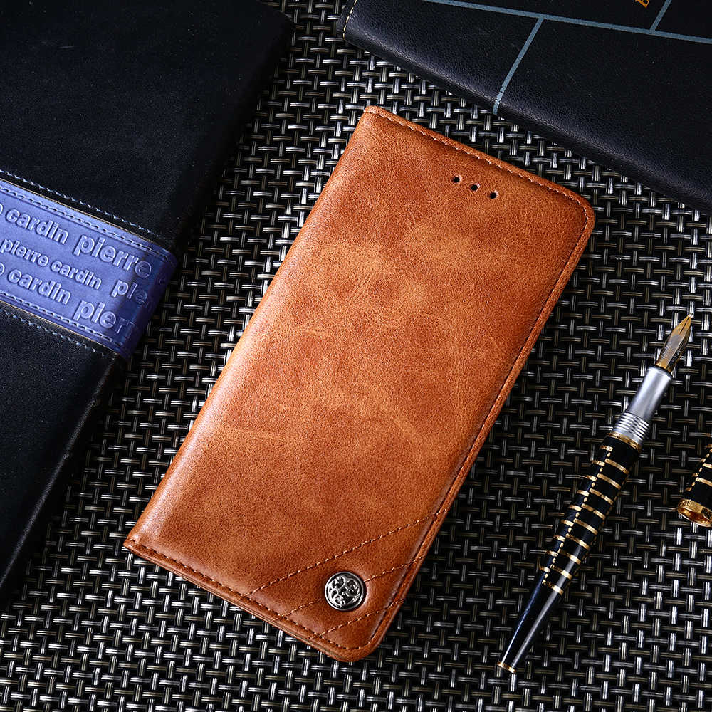 Luxury Flip case Leather Cover For Xiaomi 5 6 8 8SE 9 A1 A2 A3 For Redmi 6A Note 4 4X 6 Note 7 8 VISA card Wallet Classic Cover