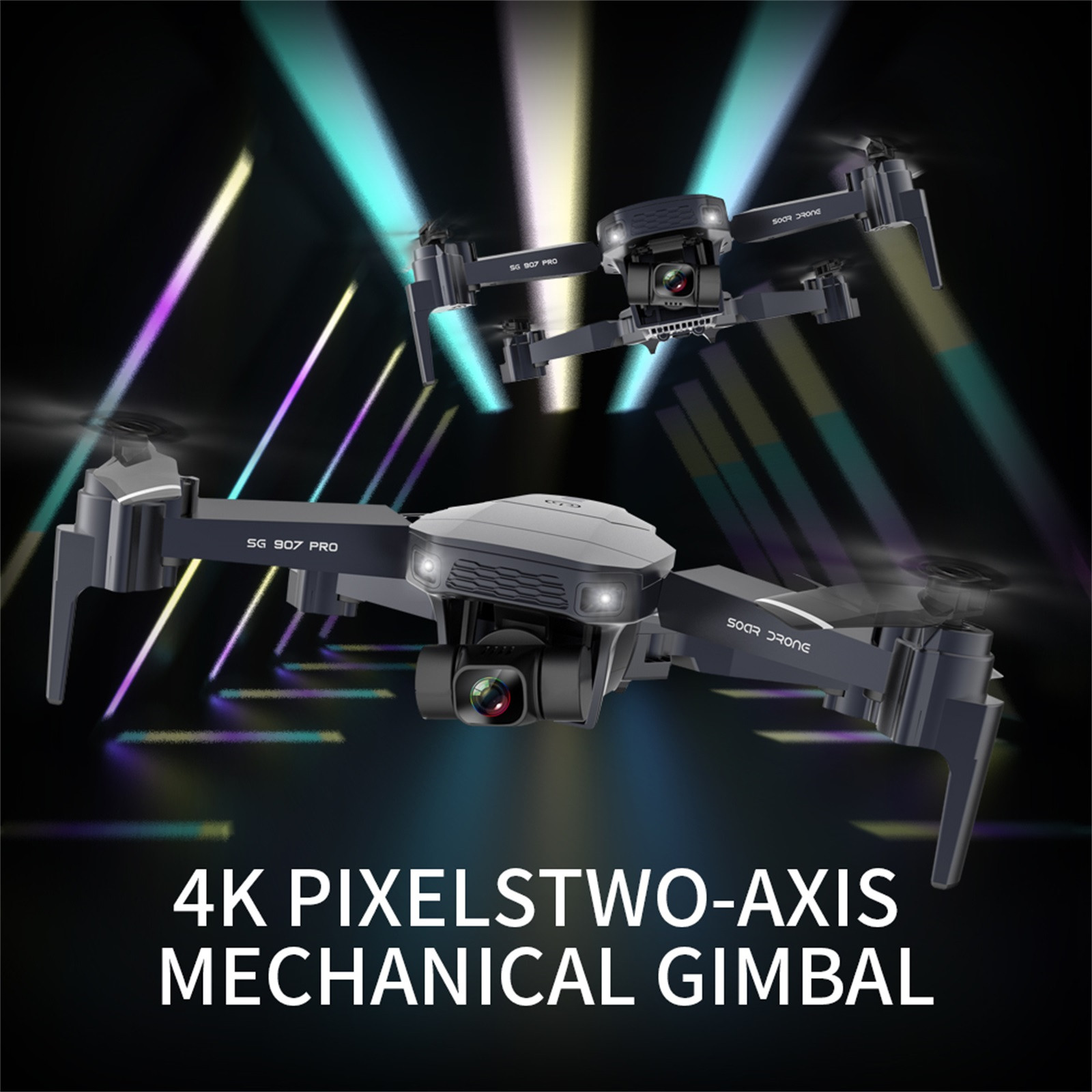 He39bef95646b413ca40dcf40f626fcfcn - 2020 New Sg907 Pro 5g Wifi Drone 2-axis Gimbal 4k Camera Wifi Gps Rc Drone Toy Rc Four-axis Professional Folding Camera Drones