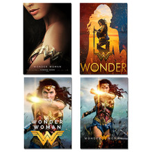 Wonder Woman Poster Heroine Movie Art Silk Posters Prints 30x45 40x60 50x75cm Pictures Home Room Decor Wall Art(China)