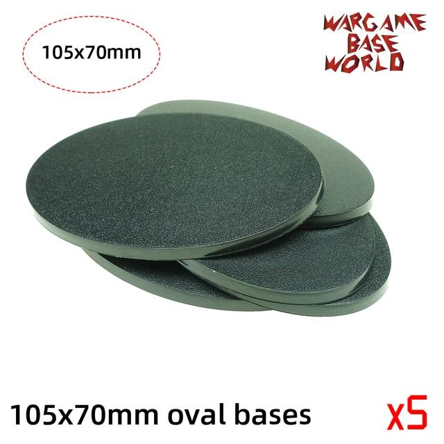 wargame base world -105 x 70mm oval bases for Warhammer 2