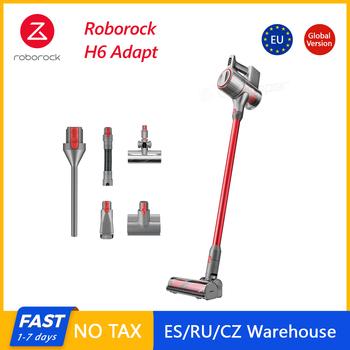Roborock H6 Adapt Cordless Vacuum cleaner Portable All in one 150AW Strong Suction 420W OLED Display Wireless Handheld - discount item  20% OFF Household Appliances