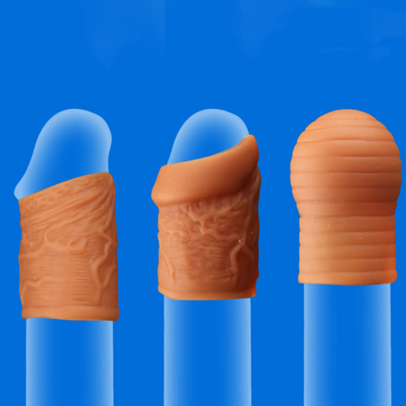 Phimosis Correction Rings Soft Silicone Penis Rings Delay Ejaculation Foreskin Corrector Cock Rings Sex Products For Men