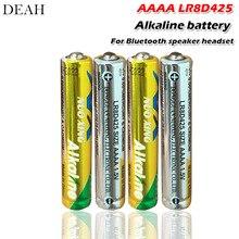 4 шт./лот 1,5 в LR8D425 AAAA щелочные батареи основные батареи для Bluetooth динамик гарнитура лазерная ручка стилус сухие батареи