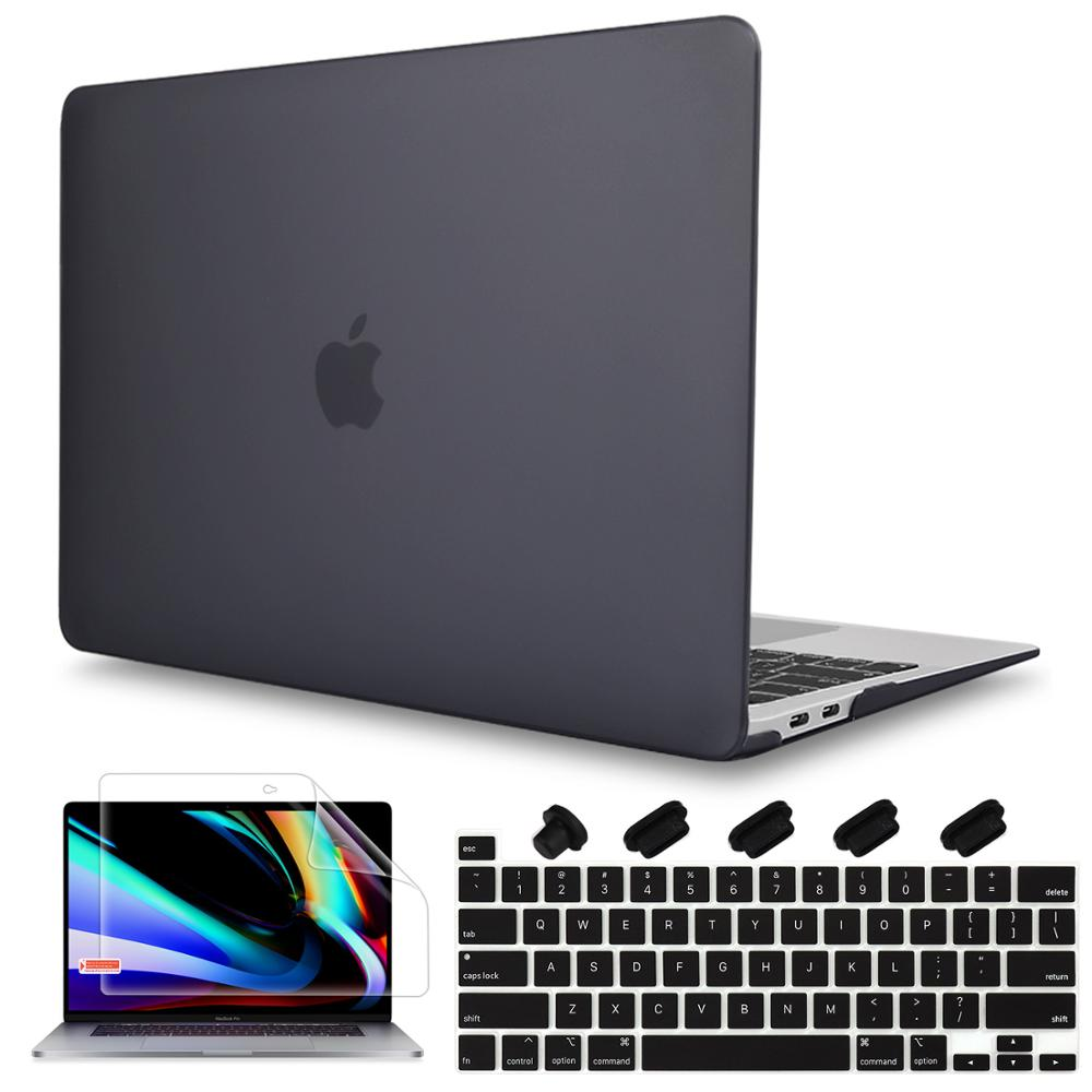 2019 New Arrival Screen Protector Keyboard Cover Hard Shell Case For Macbook Pro 16 Inch With Touch Bar A2141