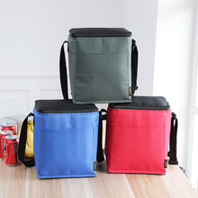 Geïsoleerde Lunchbox Draagbare Koeler Lunch Tas Outdoor Camping Picknick Tote Voedsel Opbergdoos Servies Lunchbox Lonchera 9.9L(China)