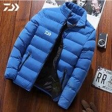 Daiwa Рыболовная куртка мужская одежда для зимней рубашки теплая мульти-карманная одежда для рыбалки мужская зимняя куртка рыболовная рубашка