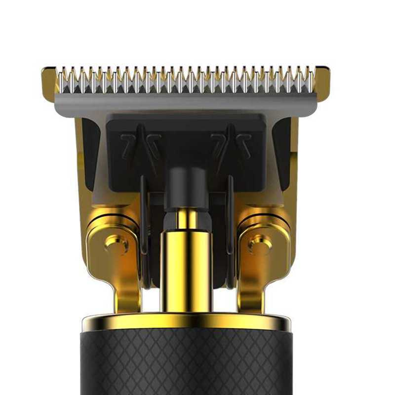 Pro li t-outliner/gtx aparador de cabelo sem fio máquina de cortar cabelo profissional para homens barba máquina de corte de cabelo barbeiro borda pivô motor