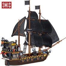 1334 pçs idéias série a eternidade navio pirata modelo blocos de construção criador barco filme tijolos diy brinquedos presentes para crianças