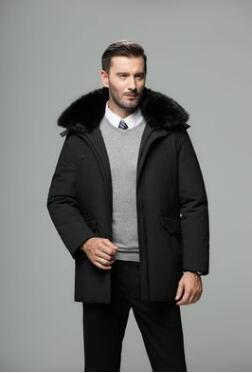 2019 Новые все в чистая хит сезона мужчины среднего возраста мужская пуховая куртка