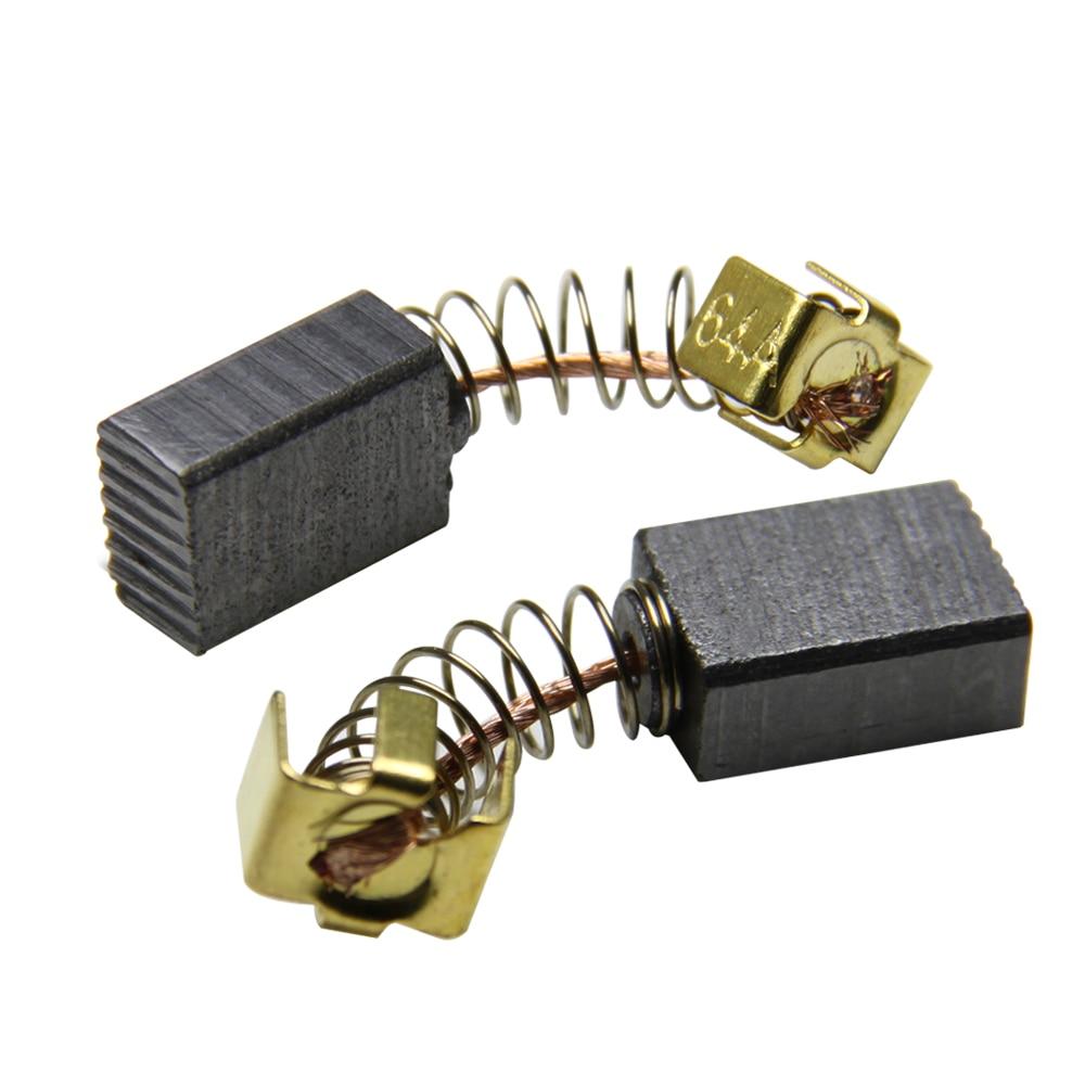 5 пар, карбоновые щетки 5x8x11 мм для электродвигателей Makita CB64 CB85 CB57