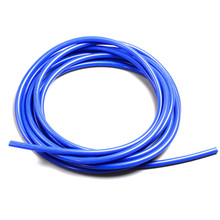 цена на Universal 3mm/4mm/6mm/8mm Silicone Vacuum Tube Hose Silicone Tubing Blue Black Red Yellow