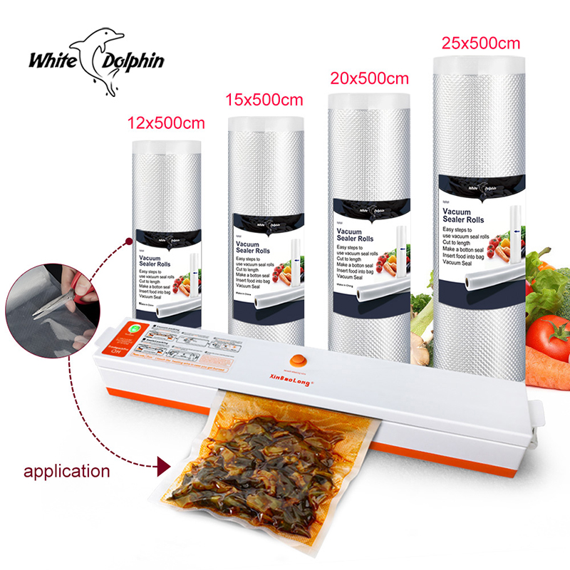 Household Food Vacuum Sealer Packaging Machine Automatic Electric Film Sealer Vacuum Packer Sealing Fresh Saver Vacuum Sealer