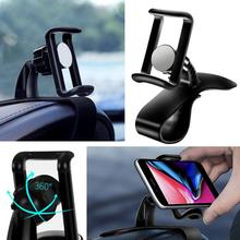 Car Phone Holder 360 Degree GPS Navigation Dashboard in for Universal Mount Mobile