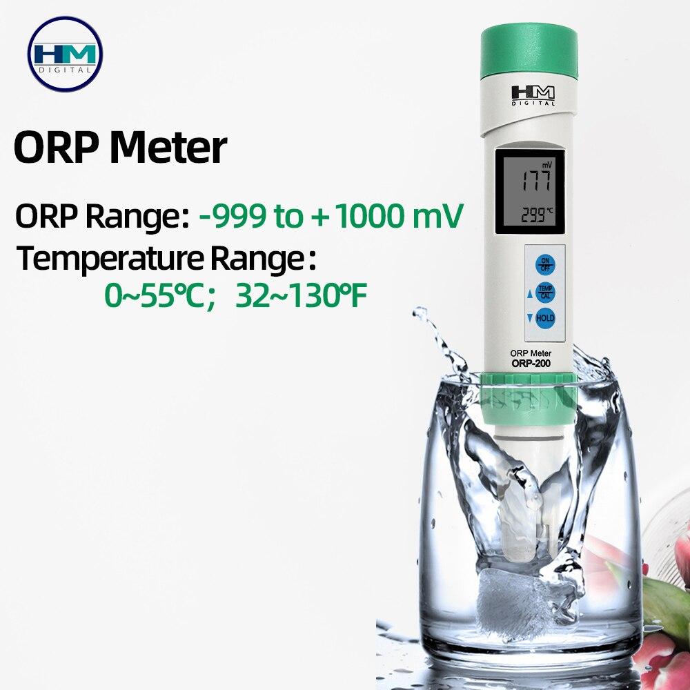 ¿Digital ORP-200 impermeable IP-67 calificación ORP con la calibración automática función simultánea de temperatura 40% Shahe Digital nivel transportador Inclinómetro de Nivel Magnético ángulo medidor de ángulo de buscador de nivel de ángulo Digital de