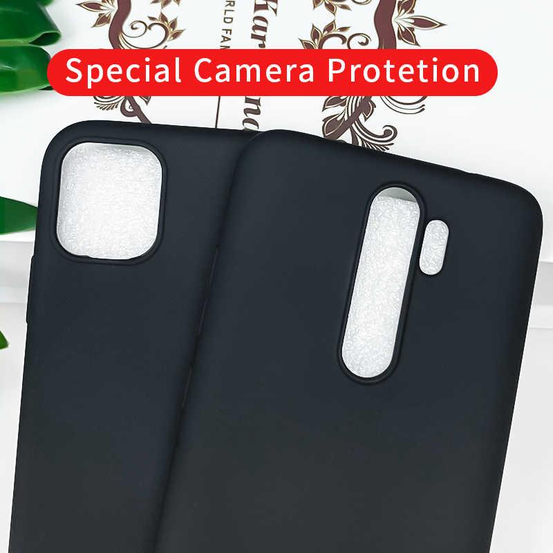 Silicone nero PER LA Fonda Xiaomi Redmi Nota 8 PRO 8 T 8 T 9 S 9 S 6 7 Caso redmi 5 Più 6A 5A 7A 8A 9A Copertura Mi Nota 10 Lite Capa
