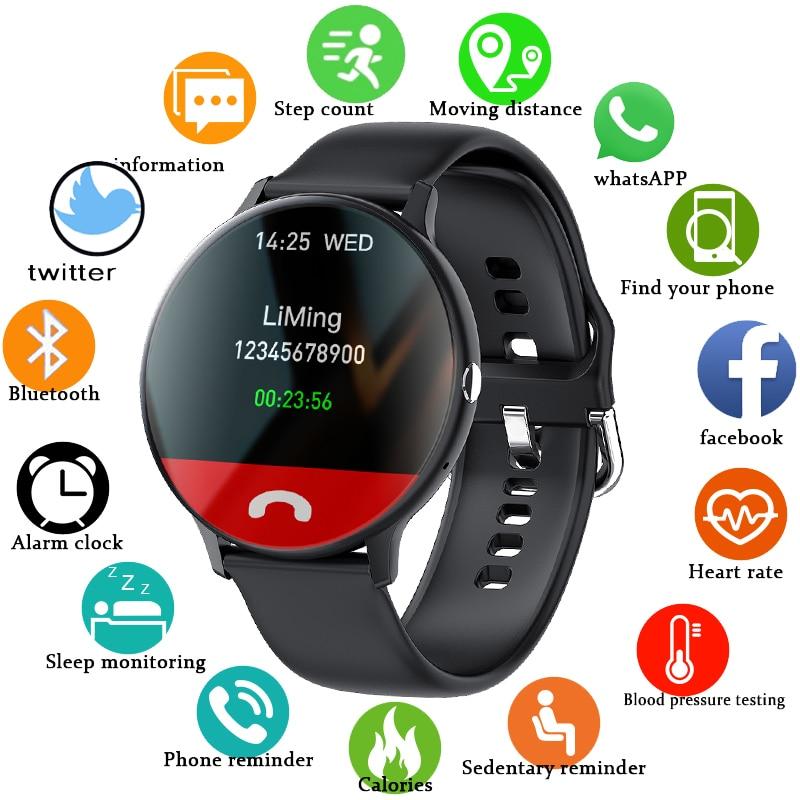 Смарт-часы LIGE с Bluetooth для мужчин и женщин, спортивный фитнес-трекер с пульсометром, для Android, IOS, Xiaomi, Huawei 1