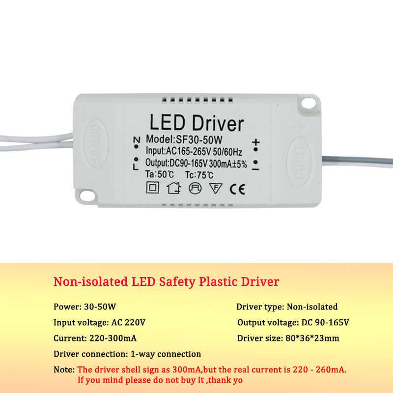 Led sürücü 8-120W trafo güç kaynağı adaptörü izole LED lamba sürücü LED aydınlatma Led Spot ampul çip