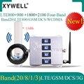 4g 800/900/1800/2100 МГц четырехполосная для усиления сигнала мобильных телефонов стандарта Сотовая связь Усилитель GSM Мобильный усилитель сигнала ...