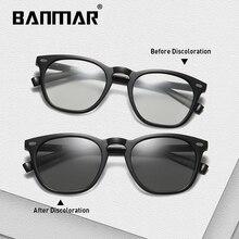 BANMAR Driving Polarized Photochromic Sunglasses Men Chameleon Glasses Driver Goggles oculos lentes de sol hombre